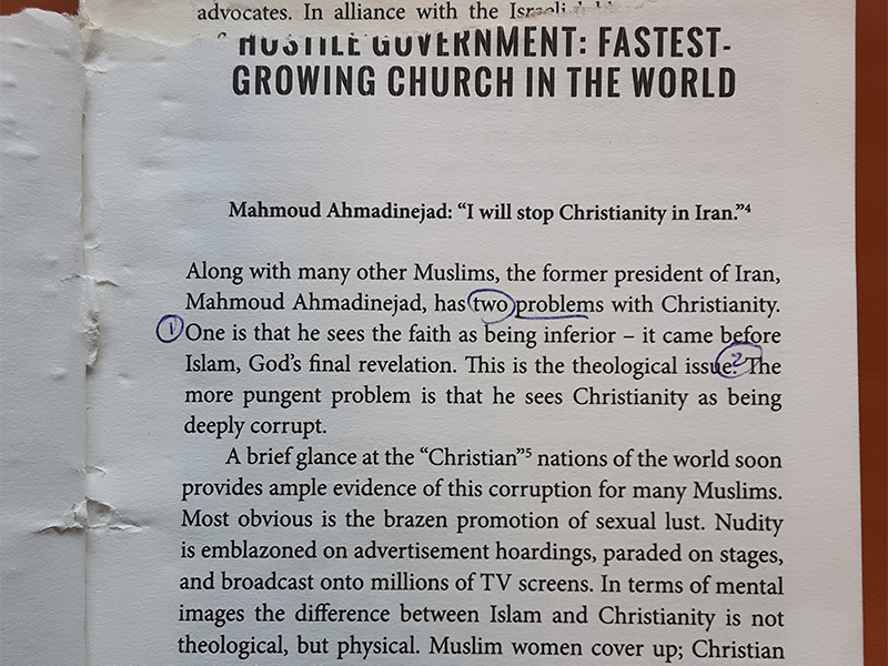 Iraanse gelovigen